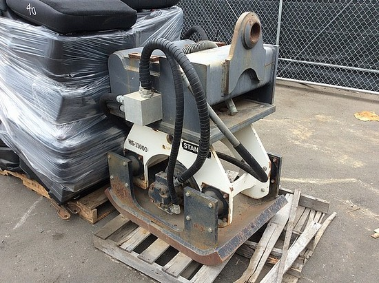 STANLEY HYDRAULIC COMPACTOR ATTACHMENT HS11000