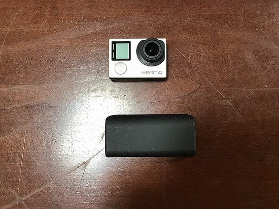 GoPro, portable charger