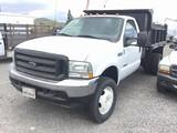 2003 FORD F550 XL