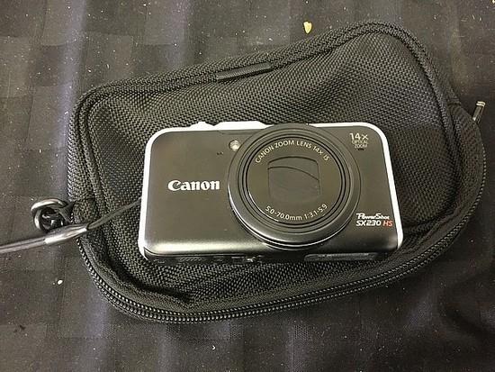 Canon PowerShot SX230 HS No charger