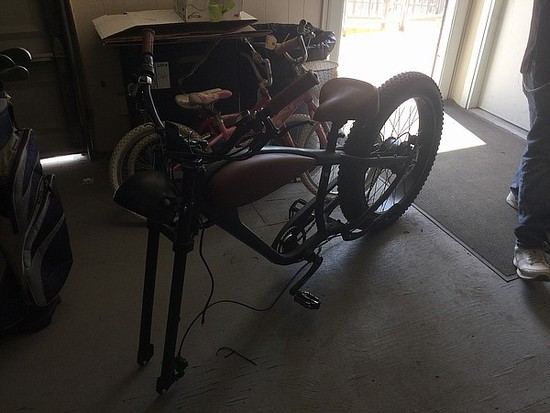 civi bikes Electric bicycle MISSING FRONT WHEEL