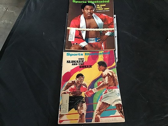 Vintage sports magazines