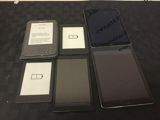 tablets Samsung, iPad, amazon Possibly locked, no charger