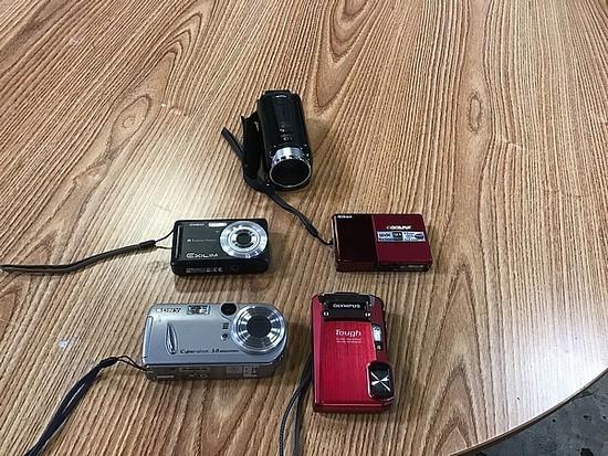 Camcorder, Sony camera, camera Nikon camera, camera