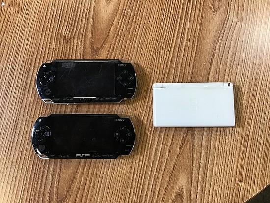 Sony psp, Nintendo ds, Sony psp