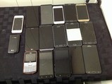 LG, iPhone, Samsung, Motorola, possibly locked, some damage Cellphones