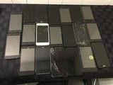 20 cellphones, possibly locked, some damage LG, MOTOROLA, ZTE