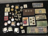 Currency, coin collection