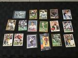 Collectible cards Hockey, football, baseball