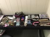 Beads, tiara, Swarovski, earrings Jewelry