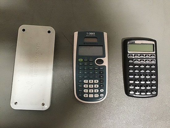 Three calculators