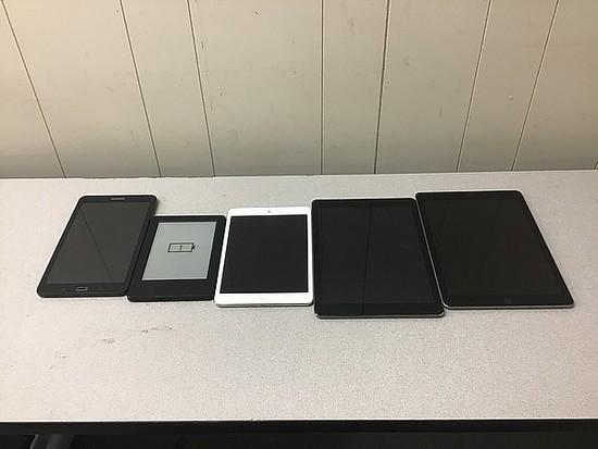 Tablets, iPad  A1475 A1954 A1489, Samsung, kindle