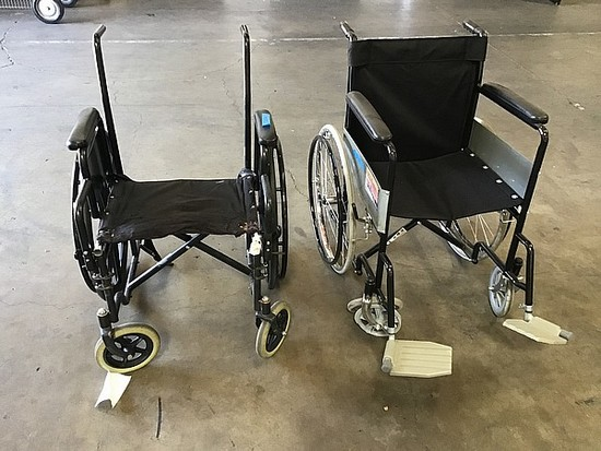 2 wheelchairs