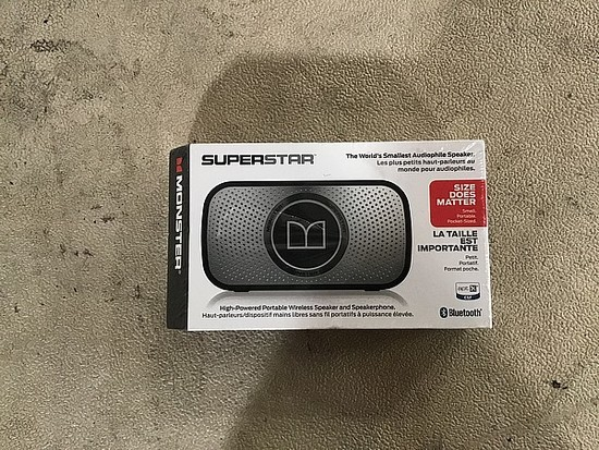 Superstar wireless speaker