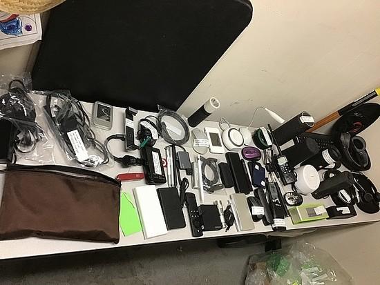 Power bank, computer accessories, speakers, headphones, Wilkie talkies