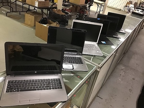 Laptop computer.possibly locked HP, DELL