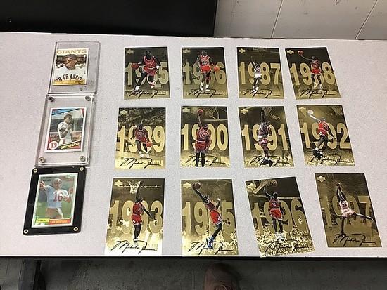 Football, baseball, basketball CARDS