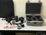 Cameras and accessories with case Canon eos rebel 4, canon eos rebel xt