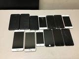 13 iPhones A1661 A1687 A1453 A1779 A1778 A1549 A1633 A1586 POSSIBLY  LOCKED, SOME DAMAGE, UNKNOWN AC