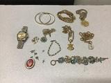 Jewelry Watch, necklaces, earrings