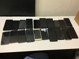 20 cellphones LG, ASUS, MOTOROLA, ZTE possibly locked, some damage, Unknown activation status
