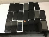 20 Cellphones, LG, Motorola, Nuu, ZTE possibly locked, some damage, Unknown activation status