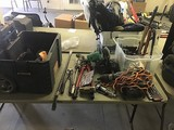 Tools, tool box, saw, cutters
