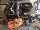 Tools, air tools, tool bag