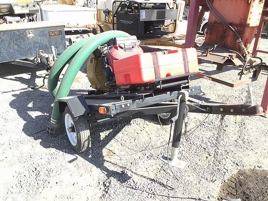 2003 SUMP PUMP WITH TRAILER