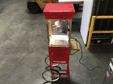 Old fashioned Movie Time popcorn machine