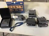 Polaroid cameras, Sony video camera