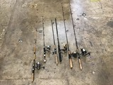 6 fishing rods