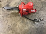 Red ICS cement cutting saw