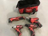 Milwaukee power tools and bag Drills, hackzall