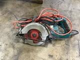 Makings circular saw w/ blade