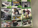10 Xbox 360 and 1 Xbox 1 video games
