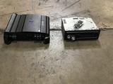 JVC car radio, alpine amplifier