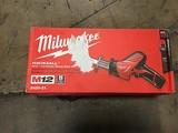 Milwaukee M12 hackzall power tool kit