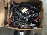 Box of assorted folding knives