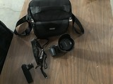Sony camera Lense , bag and accessories