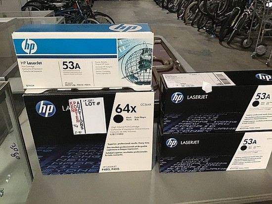 Assorted hp Laserjet print Cartridges