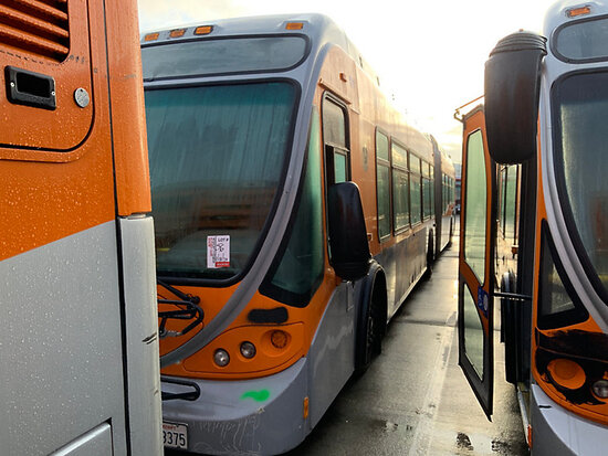 2005 NABI 60B.01 OFFSITE, DISMANTLER ONLY, 9am from Riverside, Inspection Friday 1/17 9-1pm MTA 970