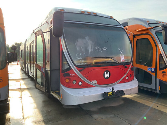 2004 NABI 60B.01 OFFSITE, DISMANTLER ONLY, 9am from Riverside, Inspection Friday 1/17 9-1pm MTA 970