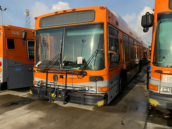 2005 NABI 40LFW-08.02 OFFSITE, DISMANTLER ONLY, 9am from Riverside, Inspection Friday 1/17 9-1pm MTA