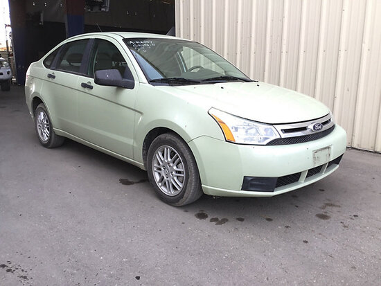 2011 Ford Focus 4-Door Sedan RUNS AND DRIVES