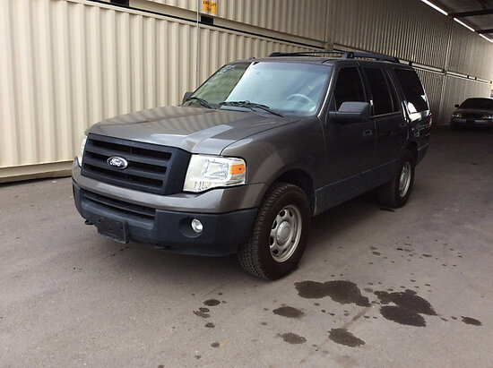 2012 Ford Expedition 4x4 Sport Utility Vehicle RUNS AND DRIVES