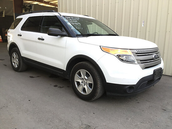 2014 Ford Explorer 4-Door Sport Utility Vehicle RUNS & DRIVES