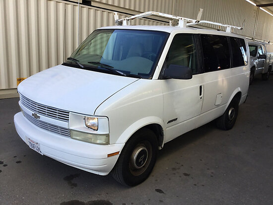 1999 Chevrolet G1500 Cargo Van WITH KEY, RUNS AND DRIVES