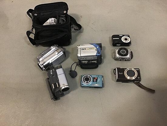 4 digital cameras Used