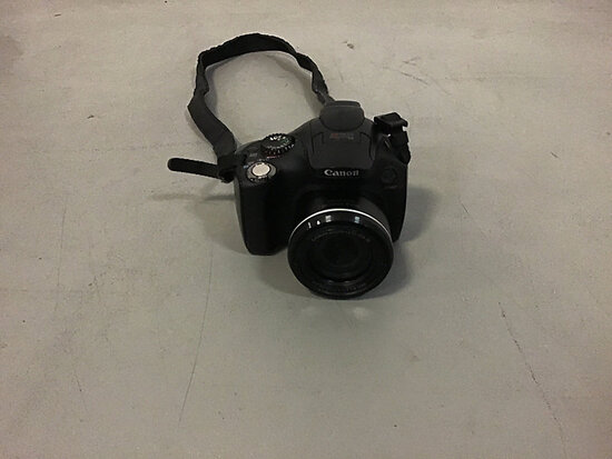 Canon PowerShot SX40 HS (Used ) NOTE: This unit is being sold AS IS/WHERE IS via Timed Auction and i